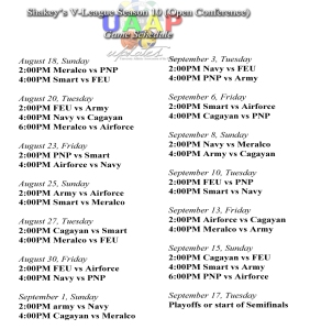 Shakey's V-League Season 10 Open Conference